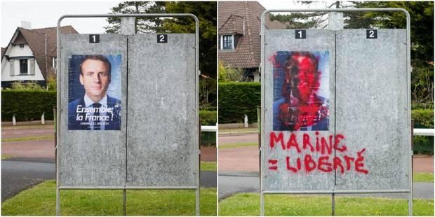 Insultes, fausses rumeurs... Fin de campagne sous tension dans le fief d'Emmanuel Macron (PHOTOS + VIDEO) - La DH
