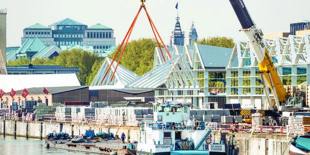 le Port de Bruxelles en pleine forme - La DH
