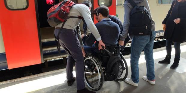 Brabant wallon: Aucune gare accessible aux PMR! - La DH