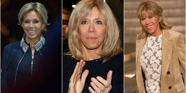 Brigitte Macron : un style qui va secouer la fonction de Première Dame - La DH