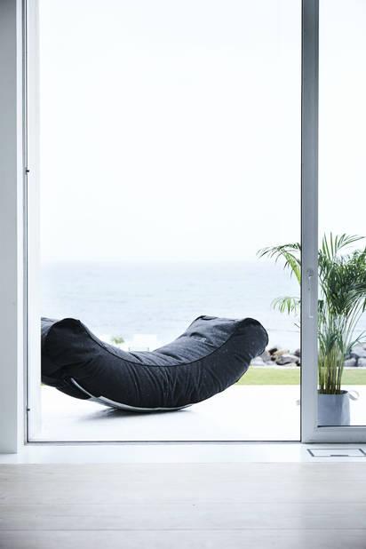 Le confort à son maximum : transat relax d'extérieur  Trimm Copenhagen