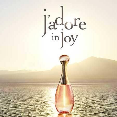 J'adore in Joy, la nouvelle frangrance de Dior, délice d'Ylang Ylang, au parfum de paradis.