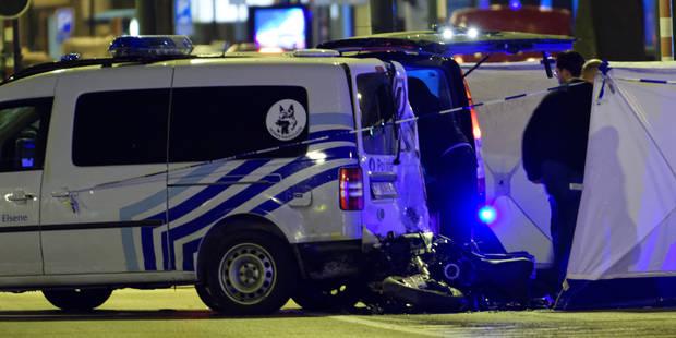 Une course poursuite avec un véhicule de police avenue Louise à Bruxelles fait deux morts - La DH