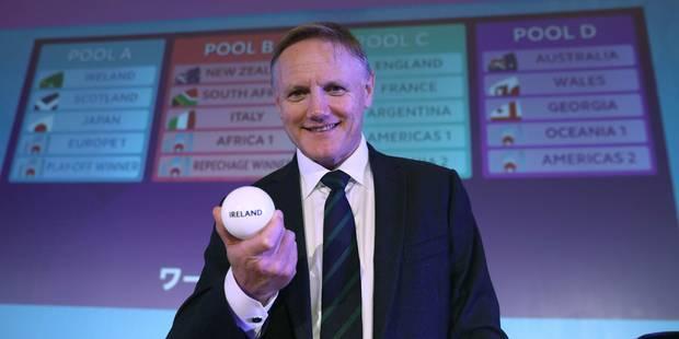 Mondial 2019 de Rugby : la France dans la poule de la mort avec l'Angleterre et l'Argentine - La DH