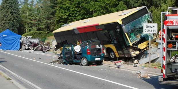 Crash mortel à Grez-Doiceau: le chauffeur des TEC poursuivi en justice - La DH