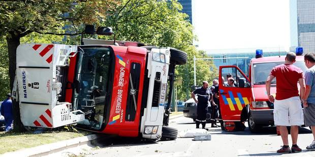 Sept pompiers blessés chaque mois à Bruxelles - La DH