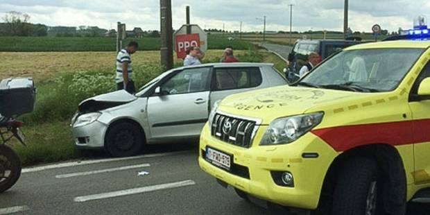 Silly: encore un accident au carrefour des Quatre Saules! - La DH