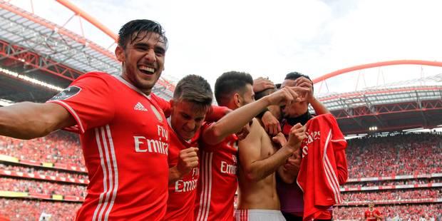 Le Benfica Lisbonne champion du Portugal, Salzbourg sacré en Autriche - La DH