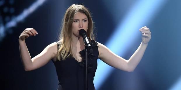 """Eurovision : Blanche, la candidate belge, est """"satisfaite et fière"""" - La DH"""