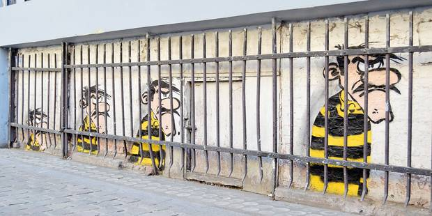 Le street art envahit les rues de la capitale - La DH