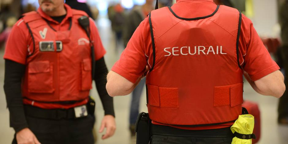 Le coup de gueule des agents Securail: ils veulent être armés - La DH