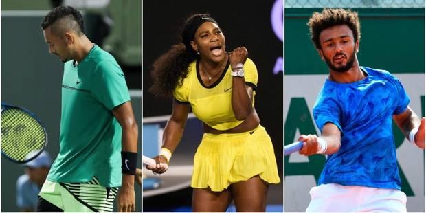 Kyrgios, Nastase, Serena: les plus gros dérapages du tennis pro - La DH