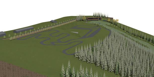 Une piste synthétique de 600 m à Malmedy - La DH