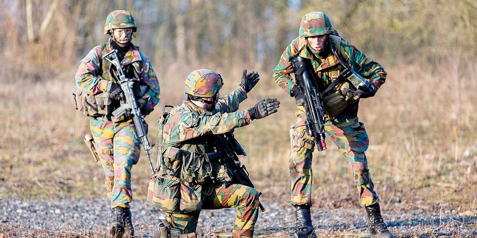 Les militaires s'entraînent de moins en moins, chiffres à l'appui ! - La DH