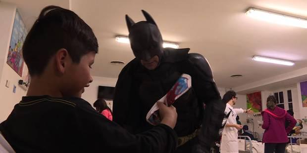 Un Batman argentin au chevet d'enfants malades - La DH