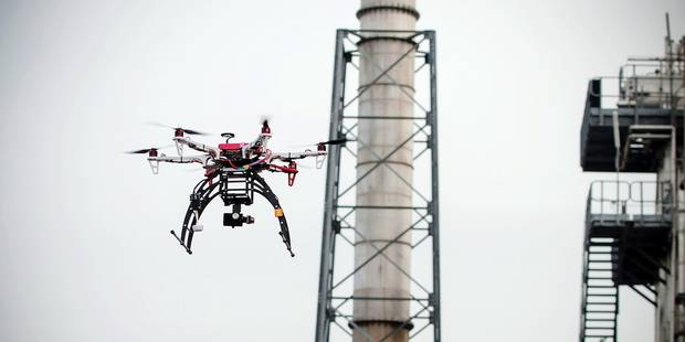 Namur: Inspection aérienne par des drônes civils - La DH