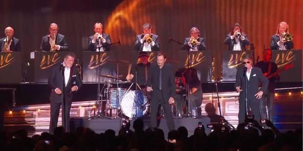 Johnny Hallyday, Eddy Mitchell et Jacques Dutronc en concert à Bruxelles: Increvables Vieilles Canailles (VIDEOS) - La D...