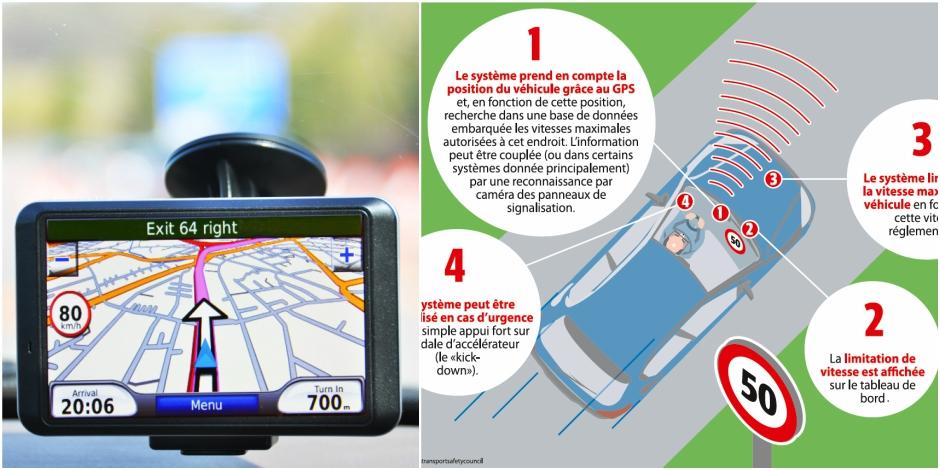 Voici le GPS anti-excès de vitesse - La DH