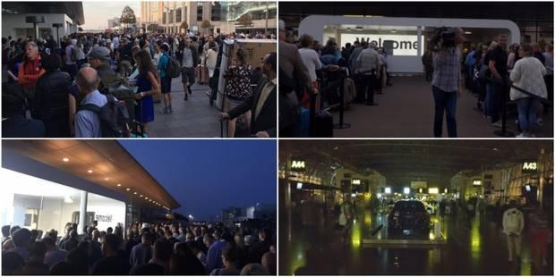 Vols retardés, gens mécontents: voici ce qu'il s'est passé à Brussels Airport ce jeudi matin (PHOTOS + VIDEOS) - La DH