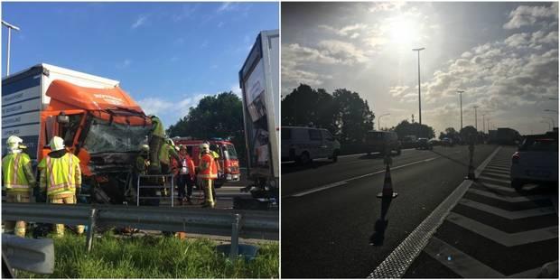 Double accident sur la E40 à Waremme: un conducteur est décédé - La DH