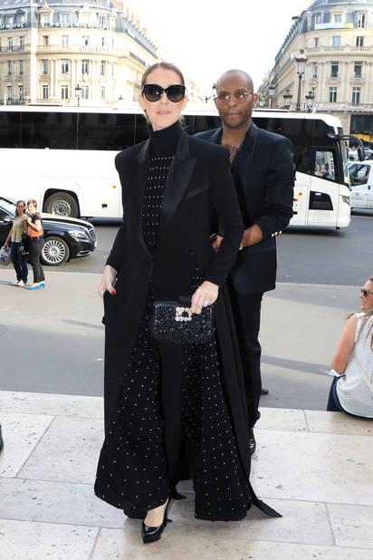 A son arrivée, le 15 juin, Céline Dion s'est rendue à l'Opéra Garnier pour voir le ballet