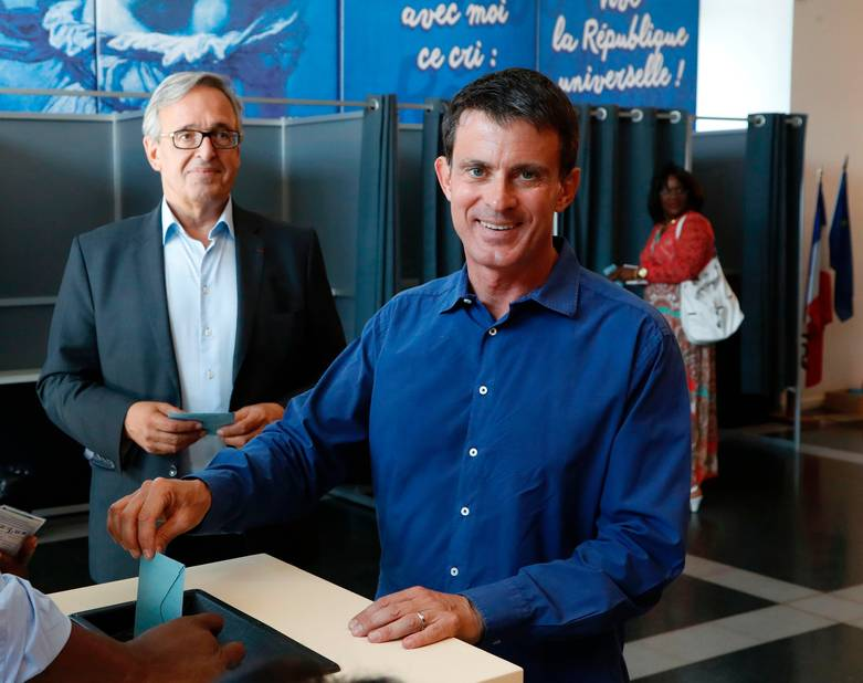 Manuel Valls, PS