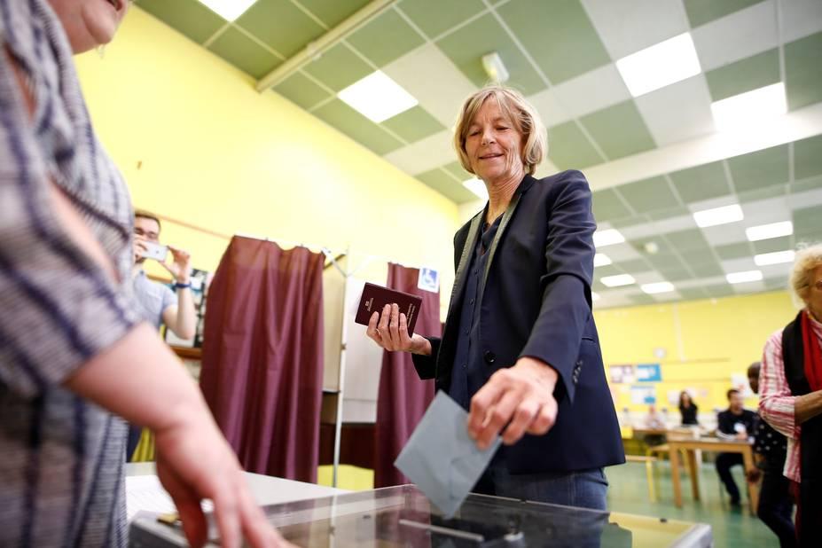 Marielle de Sarnez, ministre des Affaires européennes