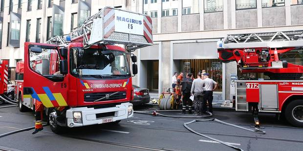 Les pompiers bruxellois en effectifs réduits durant l'été - La DH