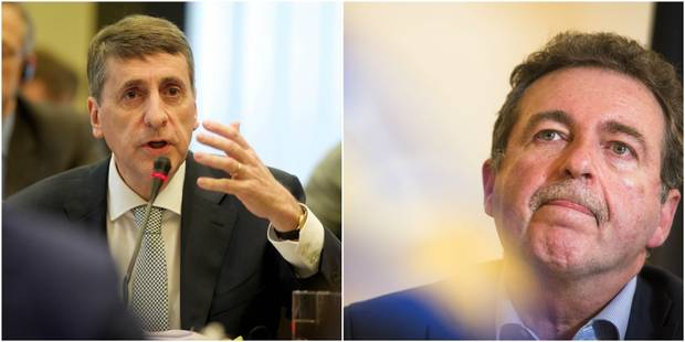 Rudi Vervoort et Olivier Maingain dare-dare à Bruxelles - La DH