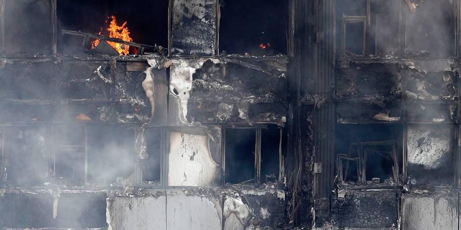 GB: 60 immeubles déclarés non conformes aux normes anti-incendie