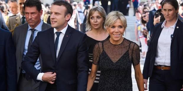 Nouveau look sans faute pour Brigitte Macron - La DH