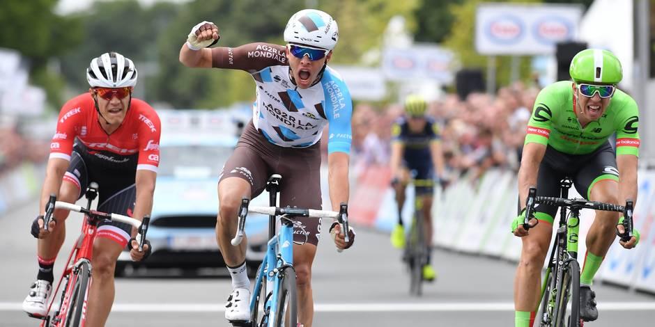 Naesen champion de Belgique
