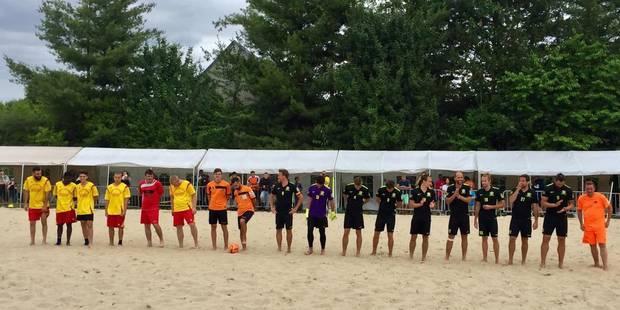 """Waterloo: """"Par là que passe l'avenir du beach soccer"""" - La DH"""
