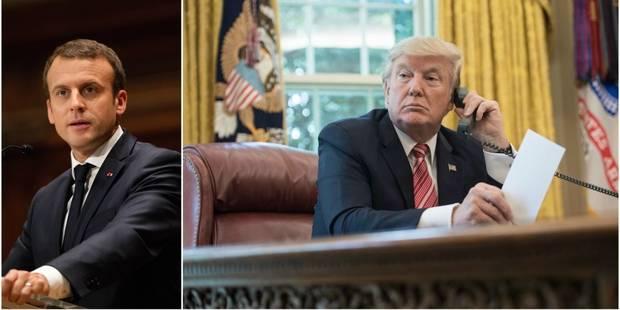 Emmanuel Macron a convié Donald Trump au défilé du 14 juillet - La DH