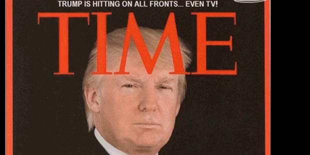 """Dans ses clubs de golf, Trump affiche une fausse une du """"Time"""" à son effigie - La DH"""