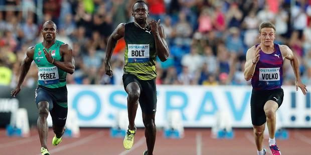 Usain Bolt au tout petit trot... - La DH