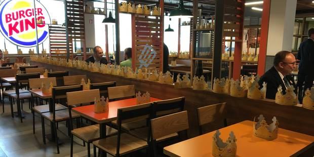 Burger King : après Anvers, un nouveau restaurant à Charleroi - La DH