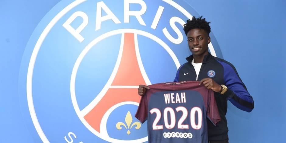 Le fils de Georges Weah signe pro — PSG