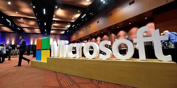 """Microsoft va annoncer des """"milliers"""" de licenciements - La DH"""