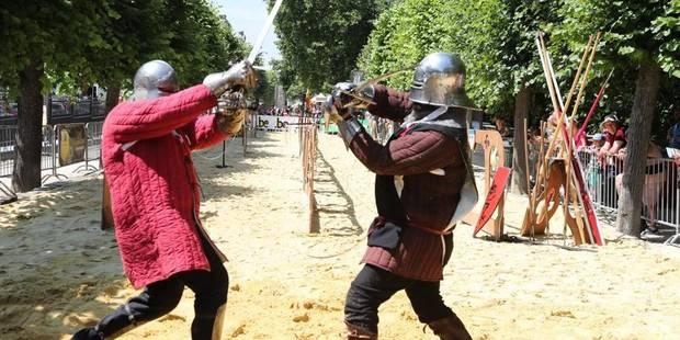 Bruxelles-Ville : Le village Renaissance a ouvert ses portes - La DH