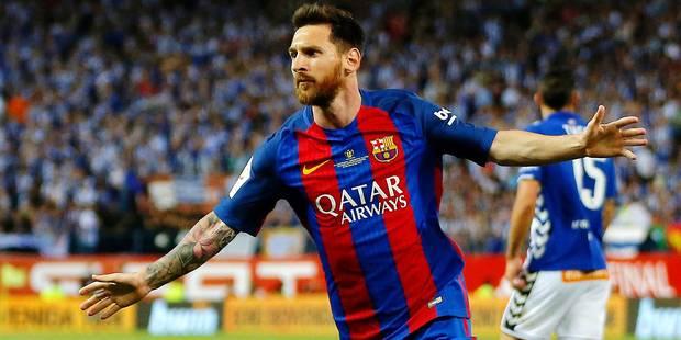 Messi, une prolongation à 35 millions - La DH