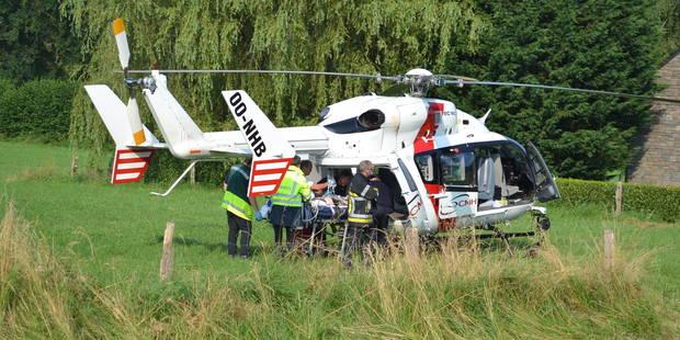 Un automobiliste grièvement blessé à Rendeux - La DH
