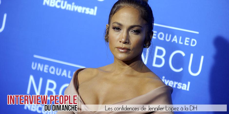 """Les confidences de Jennifer Lopez: """"Il m'est arrivé de pleurer sur un tournage"""" - La DH"""