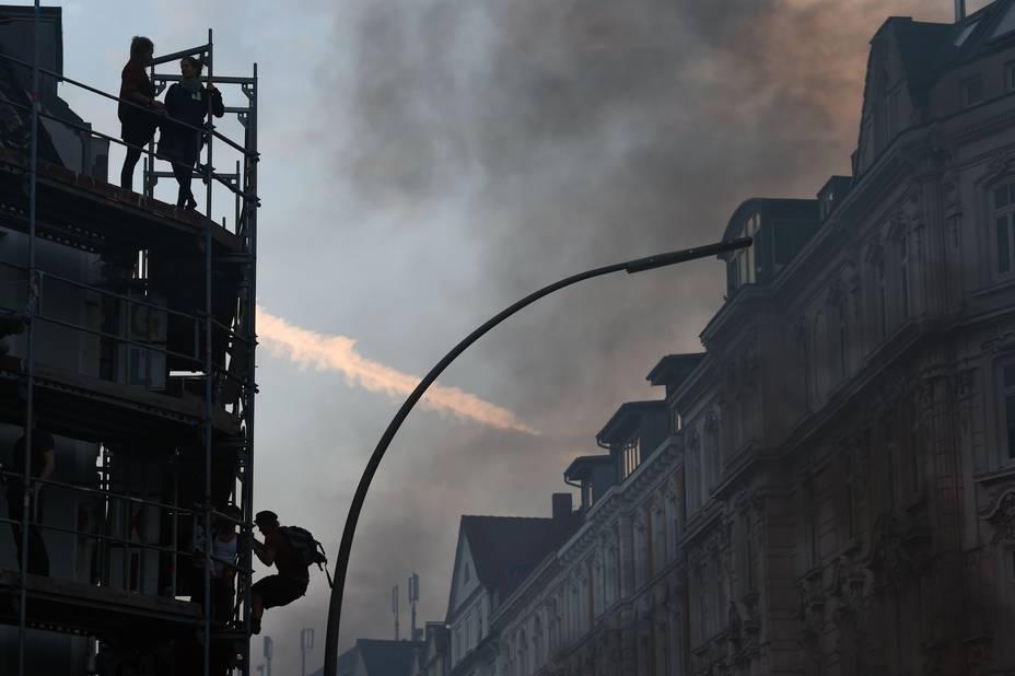 Vidéo - violences en marge des manifestations anti-G20 à Hambourg