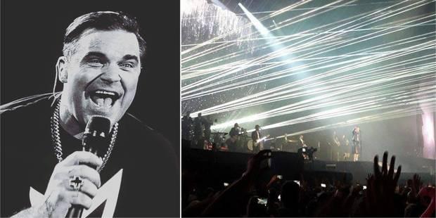 Le charme de Robbie Williams a opéré sur la plaine de Werchter (PHOTOS + VIDÉO) - La DH