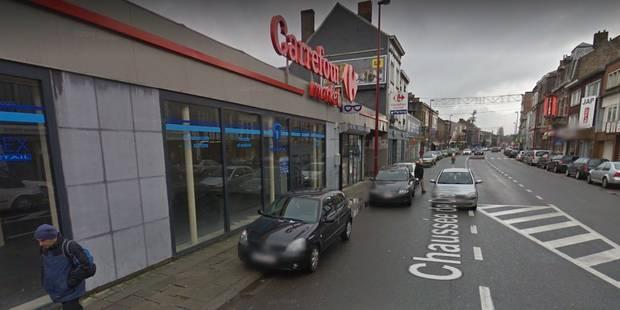 Gilly: braquage d'un magasin Carrefour Express à l'arme de chasse - La DH