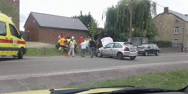 Trois blessés dans un accident route de Strée à Modave - La DH