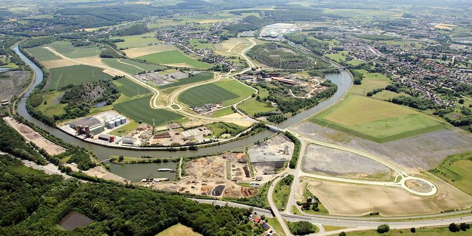 Ecopôle : entre 3.000 et 3.500 emplois créés à Farciennes - La DH