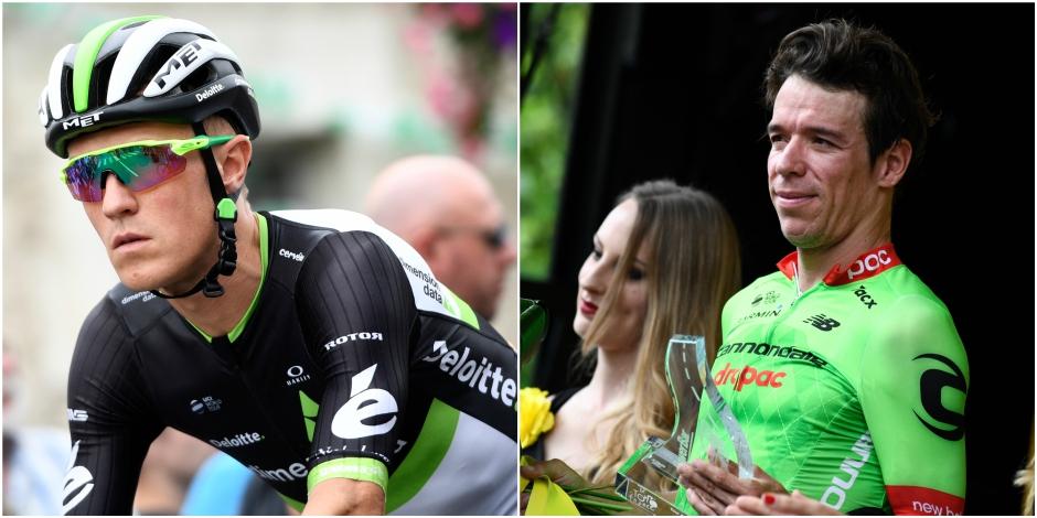 Tour de France : l'UCI annule les pénalités d'Uran et Bennett