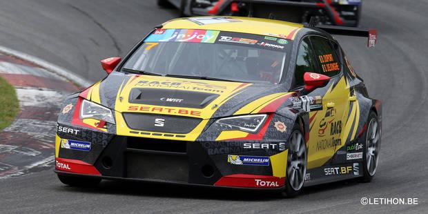 TCR Zolder: Victoire en course longue pour Dejonghe et Dupont (Seat RACB) - La DH